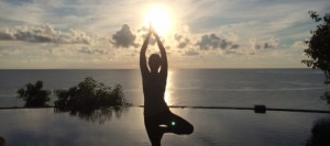yoga sun salutations a and b