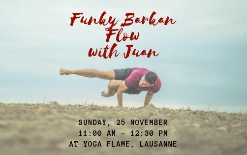 Funky Barkan Flow à Yoga Flame