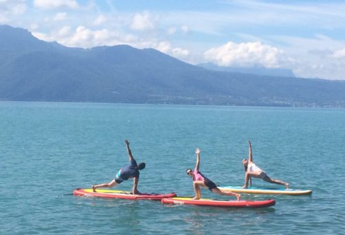 SUP Yoga event