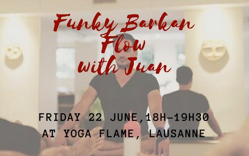 Funky Barkan Flow at Yoga Flame