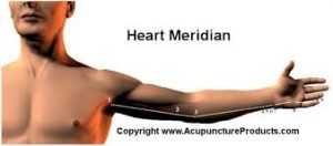 heart meridian poses