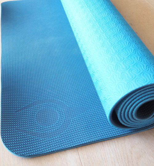 intuitive eco-friendly yoga mat, Tapis de Yoga Intuitive