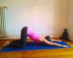 yin yoga small intestine meridian poses  myoga studio